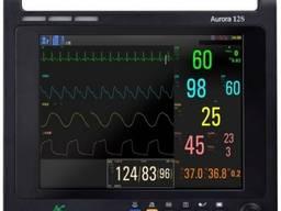 """Монитор пациента Aurora 12 (12.1"""" ЭКГ, ЧДД, SpO2, ЧП, НиАД, T°)"""