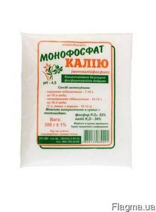 """Монофосфат калия (монокалийфосфат) """"ОВИ"""" 0,3кг Р-52%, К-34%"""