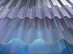 Монолітний хвильовий полікарбонат Suntuf бронза, 25% 0,8 х 1260 х 3000