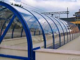 Монолитный поликарбонат Херсон бронза 4мм