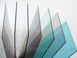 Монолитный поликарбонат прозрачный бронза 5 мм
