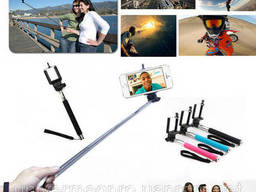 Монопод ДЛЯ Селфи Selfie Stick C Bluetooth Z07-5 Палка. ..