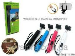 Монопод селфи Monopod с bluetooth кнопкой для смартфонов и i
