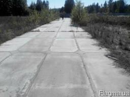Монтаж, демонтаж дорожных плит