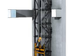 Монтаж грузовых строительных подъёмников в Одессе и Украине