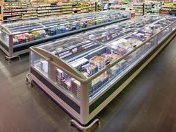Монтаж холода в супермаркете
