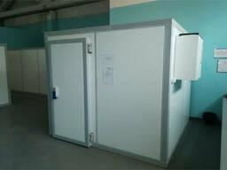 Монтаж холодильной камеры из сэндвич-панелей
