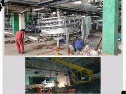 Монтаж и демонтаж станков