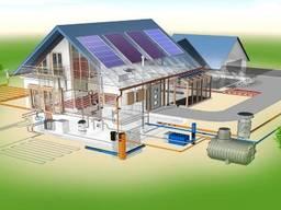 Монтаж инженерных систем:водопровод, отопление, канализация