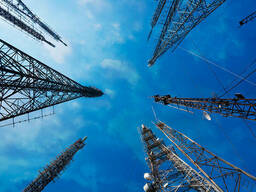 Монтаж металлоконструкций антенно-мачтовых сооружений