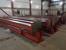 Производство, монтаж металлоконструкций складов и ангаров