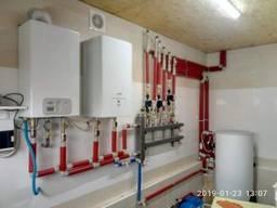 Монтаж отопления, водоснабжения, биологическая установка БИО