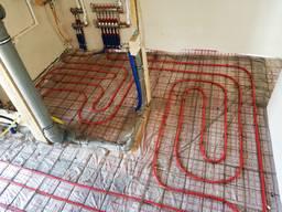 Монтаж отопления, водоснабжения, канализации. Монтаж котельных, Теплый пол