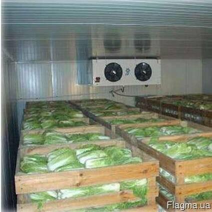 Монтаж овощехранилищ.