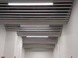 Монтаж подвесного потолка, армстронг, грильято, ламельный по