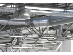 Монтаж приточно–вытяжной вентиляции