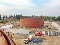 Монтаж резервуаров, установка резервуара, Украина
