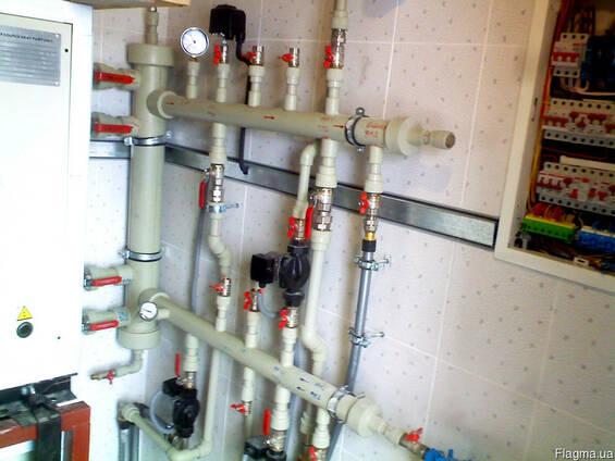 Монтаж систем отопления, водоснабжения и канализации. Цены.