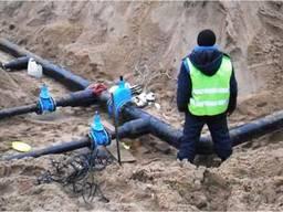 Будівництво мереж водопостачання житлові та промислові об'єкти
