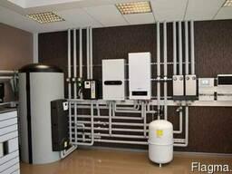 Монтаж системы отопления в квартире и в доме
