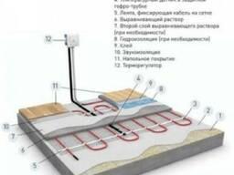 Монтаж теплых электрических полов Херсон