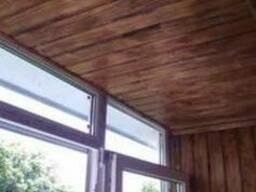 Монтаж вагонки любой сложности (стена / потолок)