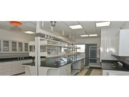 Монтаж вентиляции в лаборатории