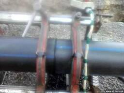 Монтаж водо-газопроводов из полиэтилена