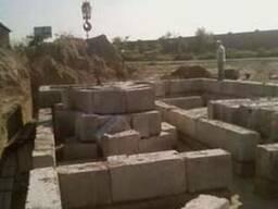 Монтаж Ж/б, плит перекрытия, фундаментных блоков