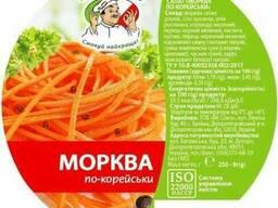 Морковь по-корейски продам