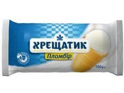 Мороженое хрещатик пломбир