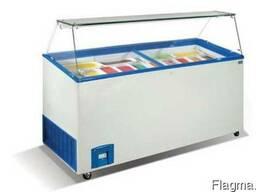 Морозильные витрины для мягкого мороженого (Холодильные) эко