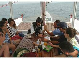 Морские прогулки и аренда парусных яхт в Одессе