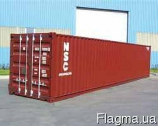 Морской контейнер 40 футов б/у