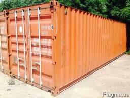 Морской контейнер 40НС футов