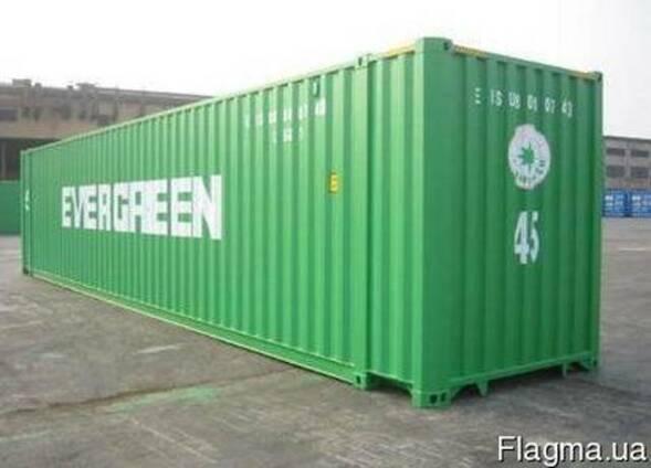 Морской контейнер 45 футов