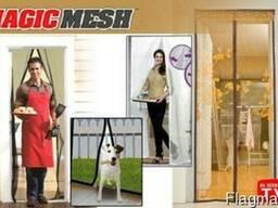 Москитная сетка на дверь Magnetic Mesh, Магнетик Меш (210 *