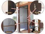 Москитные Двери Москитную Сетку на Дверь - фото 4