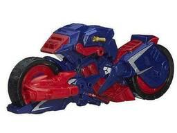 Мотоцикл Капитана Америка из серии разборных супергероев - Captain America Motorcycle. ..