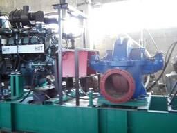 Мотопомпа дизельная, дизельная насосная станция