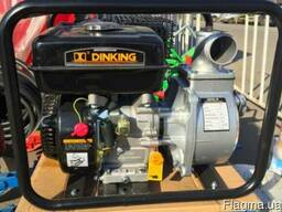 Мотопомпа для воды и КАС 600л/м Dinking