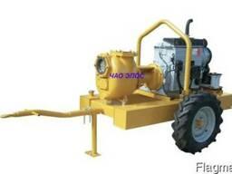 Мотопомпа Victor Pumps S 160 для откачки загрязнений (продам