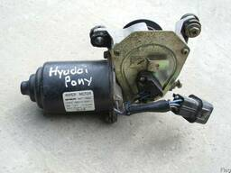 Моторчик дворников Hyundai Pony ( 1988г- 1994г). - фото 1