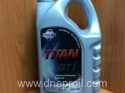 Моторное масло FUCHS TITAN GT 1 5w-40 5л.