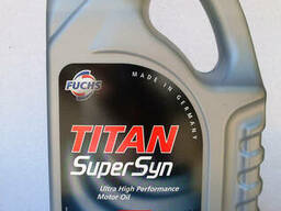 Моторное масло Fuchs Titan SuperSyn 5w40 синтетика 4л