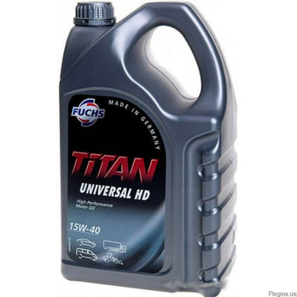 Моторное масло Fuchs Titan Universal HD 15w40 / 5л