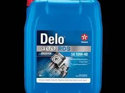 Моторное масло texaco delo 400 rds sae 10w40 20 евро 5, 6 20 л