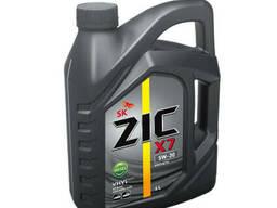 Моторное масло ZIC X7 5W-30 Diesel 6л