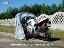 МотоТент складная палатка-гараж для мотоцикла квадроцикла