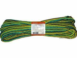 "Мотузка господарська ""Веселка"" TM Virok, 7мм Х 20 м, р/н=100кгс, поліпропіленова, з. .."